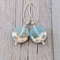 Sea Spray Glass Earrings | Julie Fountain